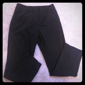 Full length black dress pant size 2